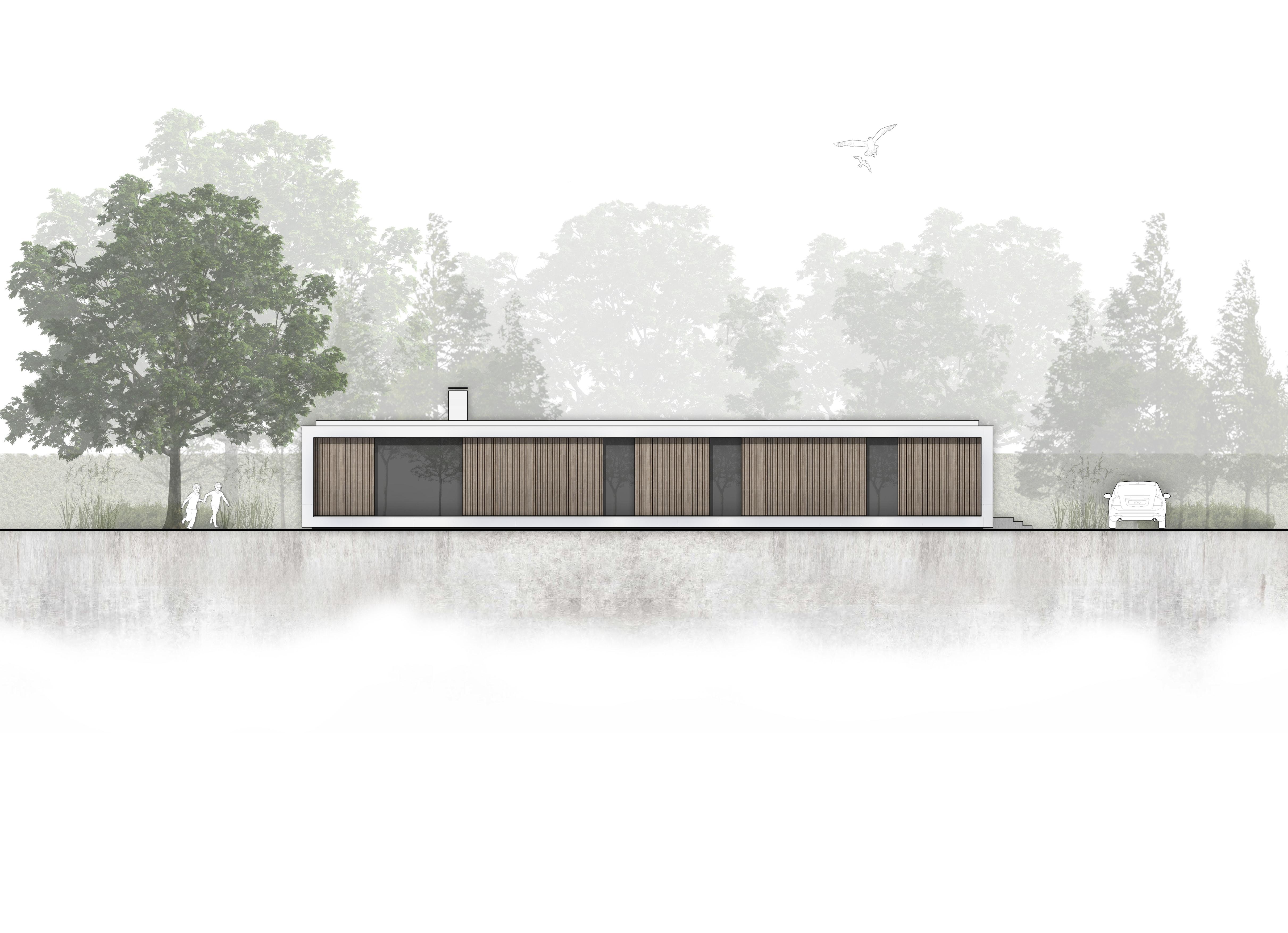 Nieuwbouw moderne bungalow met patio in Prinsenbeek