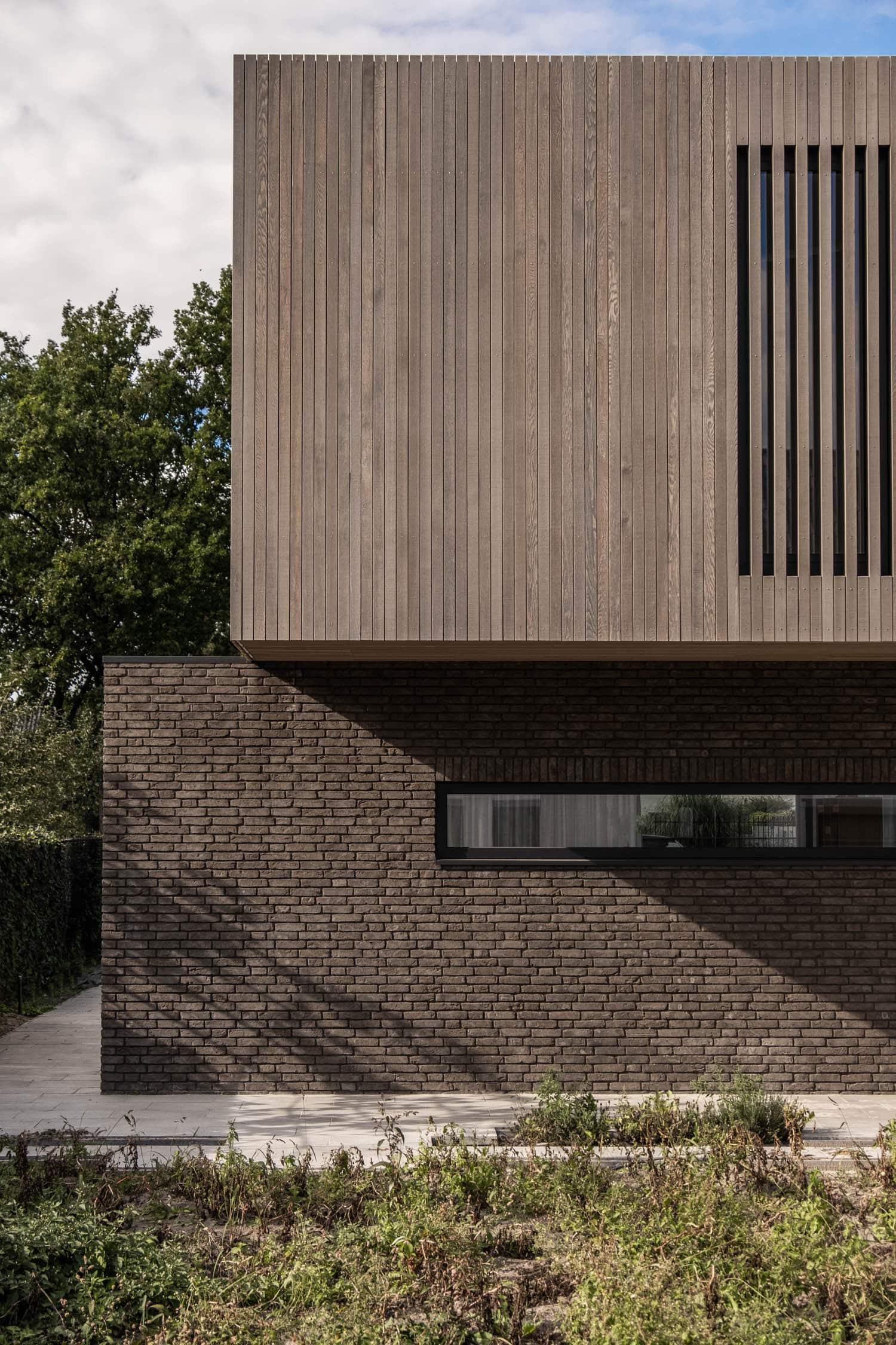 Nieuwbouw kubistische woning Westergouw Teteringen
