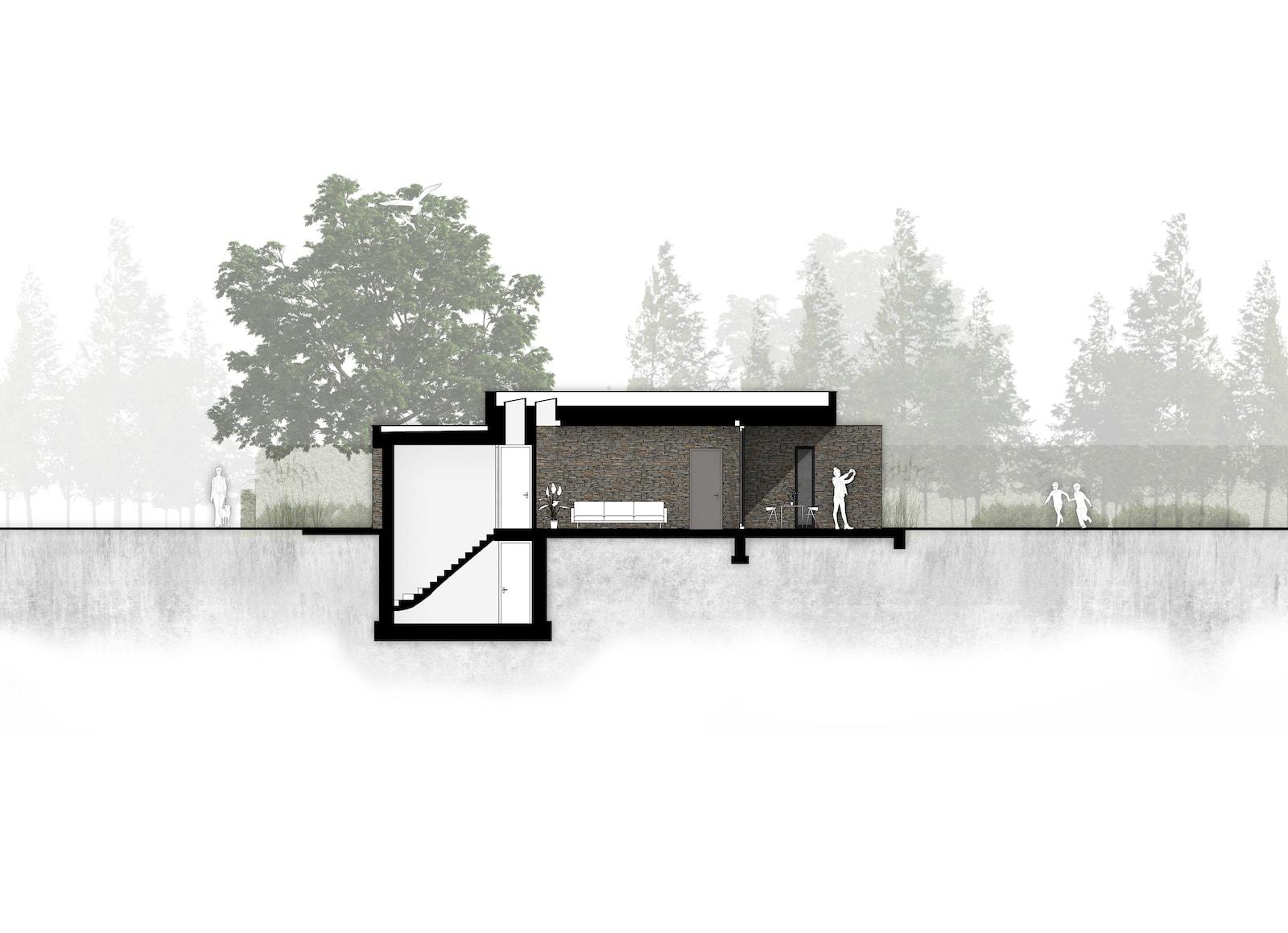 van-os-architecten-breda-nieuwbouw-moderne-bungalow-in-zichtwerk-natuurgevelsteen-en-gevelstucwerk-in-breda-kelder-en-zichtwerk-natuursteen-in-woonkamer
