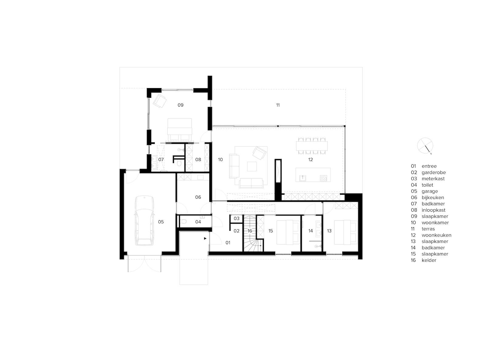 van-os-architecten-breda-nieuwbouw-moderne-bungalow-in-zichtwerk-natuurgevelsteen-en-gevelstucwerk-in-breda-plattegrond