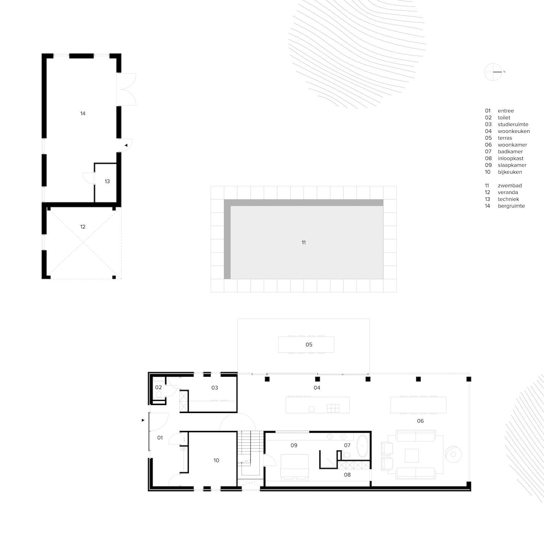 van-os-architecten-breda-nieuwbouw-schuurwoning-lieshout-met-zichtwerk-eikenhout-spanten-en-beton-volume-plattegrond-beganegrond-met-woonkeuken-en-woonkamer-rondom-betonnen-kern
