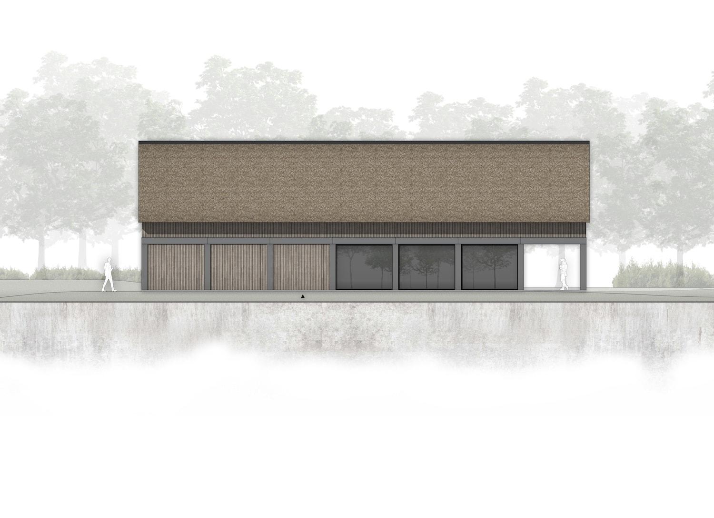 van-os-architecten-breda-ontwerp-moderne-schuurwoning-oosteind-in-rieten-dakbedekking-en-padoek-gevelbekleding-met-aluminium-puien-entree-in-houten-gevel